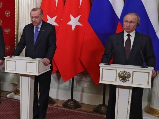 На пользу Турции, заверил он