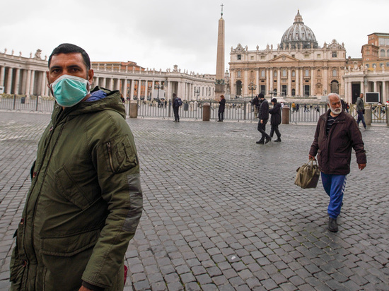 """Картинки по запросу """"Ватикан сообщает о первом случае коронавируса"""""""