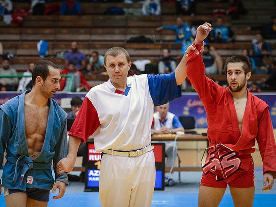 Рязанский самбист Али Куржев стал заслуженным мастером спорта России