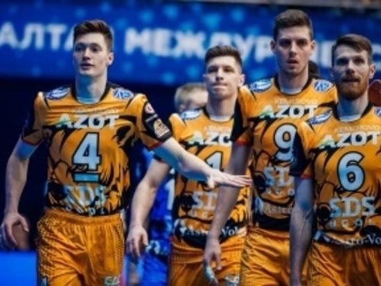 Кузбассовцы стали чемпионами России по волейболу