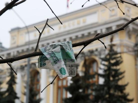 Центробанк приостановил покупку валюты из-за обрушения рубля