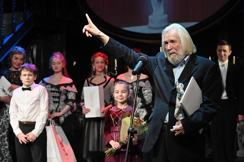 Внук Андрея Миронова получил премию своего великого деда