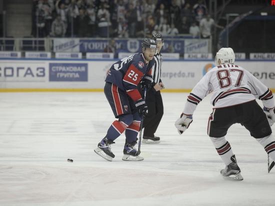 ХК «Торпедо» уступил ЦСКА в серии плей-офф КХЛ со счетом 0-4