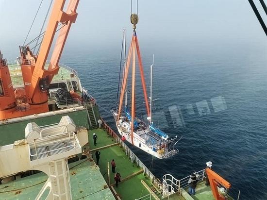 Омская яхта «Сибирь» эвакуирована из Антарктиды