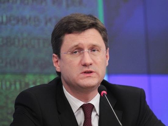 Новак призвал не ждать быстрого восстановления цен на нефть
