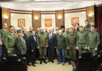 Казаки Ставрополя подписали с мэрией договор о сотрудничестве