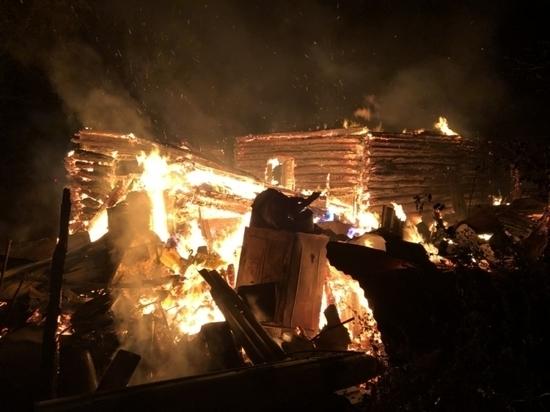 В Тульской области за сутки произошло 5 пожаров