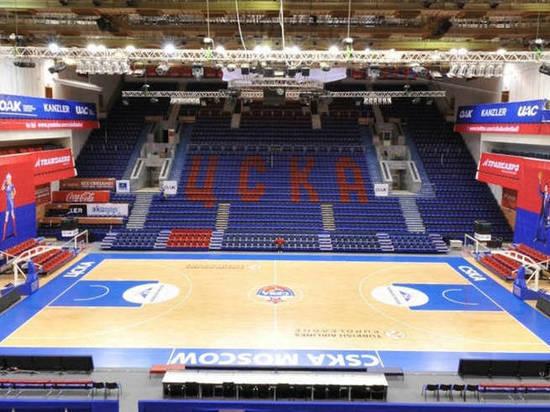Баскетбольный ЦСКА проведет ближайший матч Евролиги со зрителями
