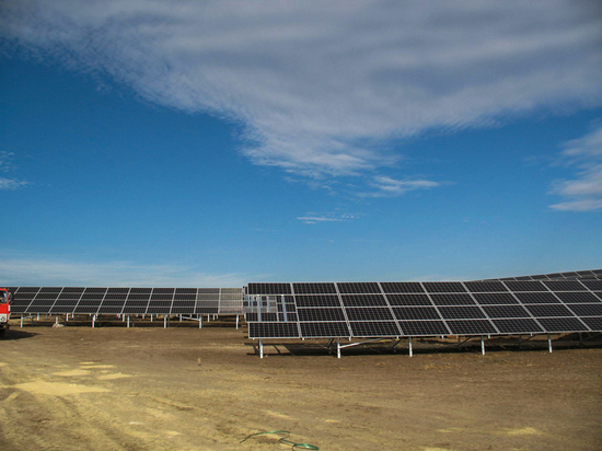 Первую солнечную электростанцию на Ставрополье введут в начале апреля