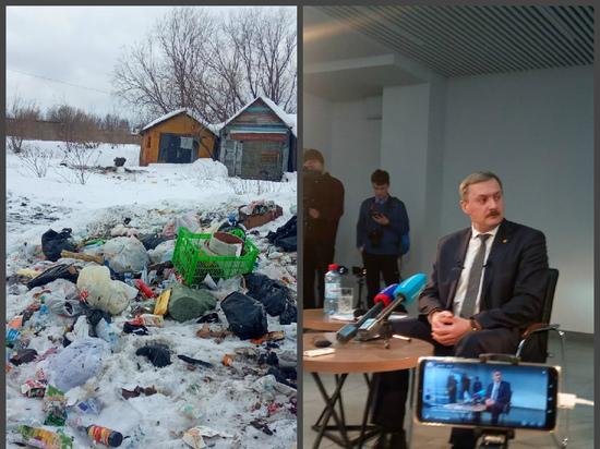 Годзиш пообещал убрать помойницы и выгребные ямы из Архангельска
