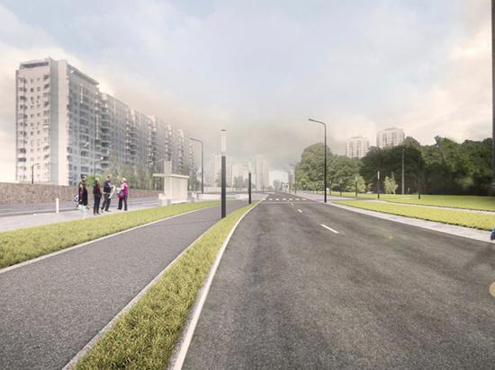 На Ленинском проспекте появятся «Городские оазисы»