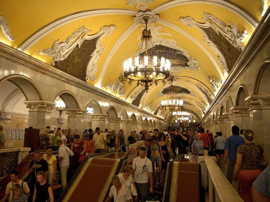 Названы самые загруженные станции московского метро