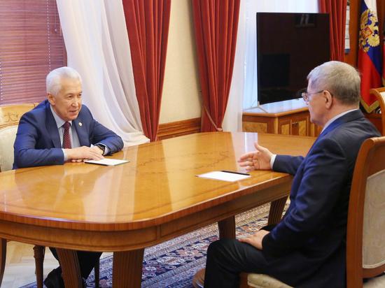 Чайка обсудил с Васильевым пути развития Дагестана