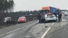 """В аварии на """"Скандинавии"""" пострадали семь человек"""