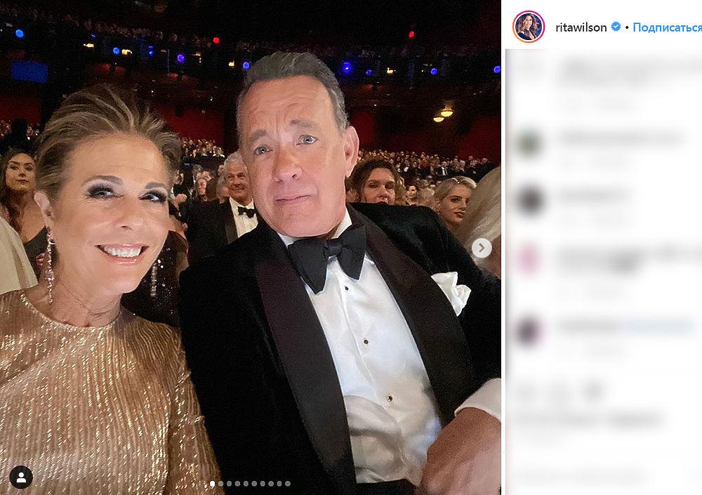 Актер Том Хэнкс и его жена заразились коронавирусом: фотопереживания пары