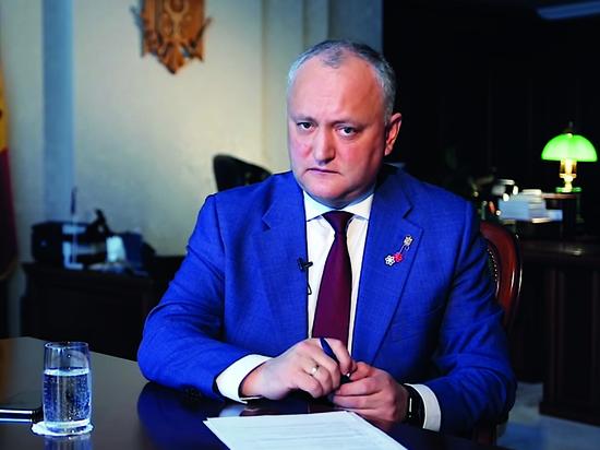 Президент Молдовы объяснил, почему Плахотнюк хочет вернуться