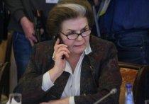 Валентина Владимировна Терешкова заслуживает уважения без всяких сомнений