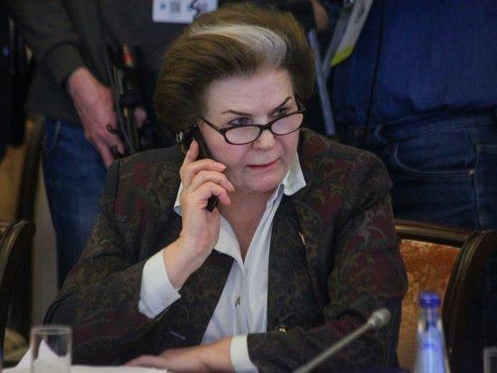 Терешкова объяснила, как нужно относиться к Путину и гадостям
