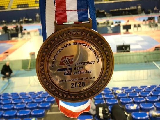 Рязанец завоевал бронзу Международного турнира по тхэквондо