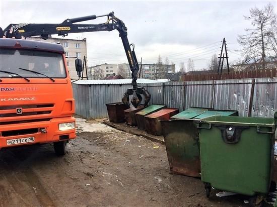 В Прионежском районе старые металлические контейнеры меняют на пластиковые