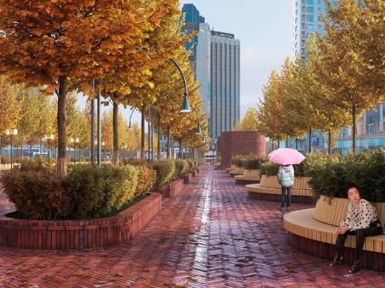Сокольническая площадь покраснеет: москвичи выбрали оригинальный дизайн-проект