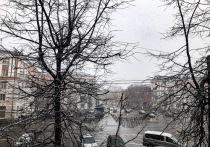 В Твери пошел обещанный синоптиками снег