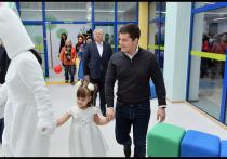 Дмитрий Артюхов открыл инклюзивный детсад в Новом Уренгое