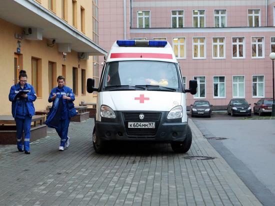 С крыши московского медцентра для больных коронавирусом упал сотрудник