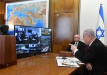 Нетаниягу провел  заседание правительства в режиме видеоконференции