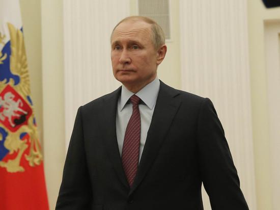 Путин распорядился создать рабочую группу Госсовета по борьбе с коронавирусом