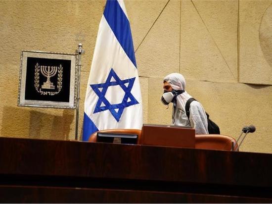 Накануне присяги депутатов зал Кнессета продезинфицировали