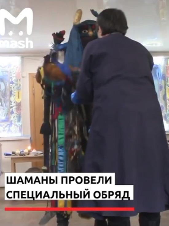 В Улан-Удэ шаманы провели обряд по изгнанию коронавируса