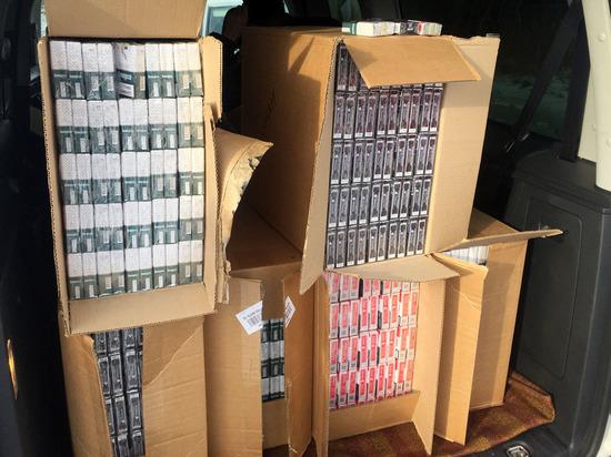 В Абакане обнаружили партию поддельных сигарет на 11 миллионов рублей