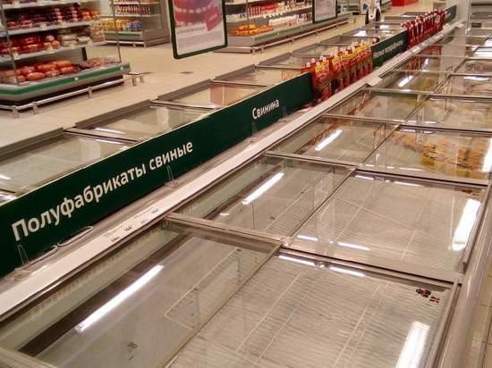В магазинах Нижнего Новгорода появились пустые полки