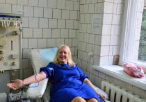 В Ялте сотрудники санатория «Родина» стали донорами крови