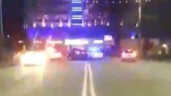 В Брянске опубликовали видео гонки пьяного лихача с сотрудниками ДПС