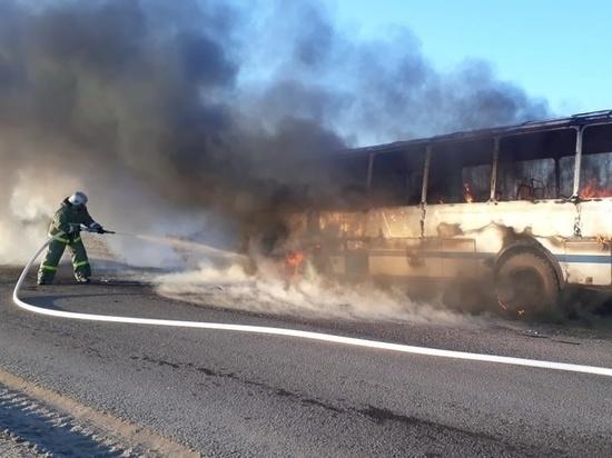 Три пожара и последствия пяти ДТП устранили тульские спасатели за сутки