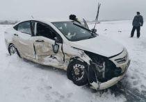 В Башкирии столкнулись две иномарки – есть пострадавшие