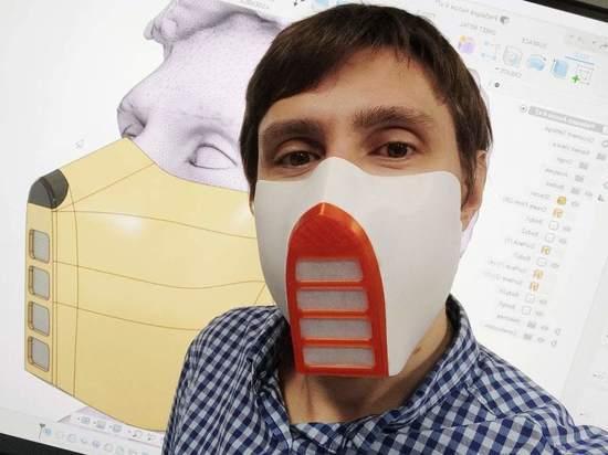 В Астрахани разработали уникальную многоразовую маску