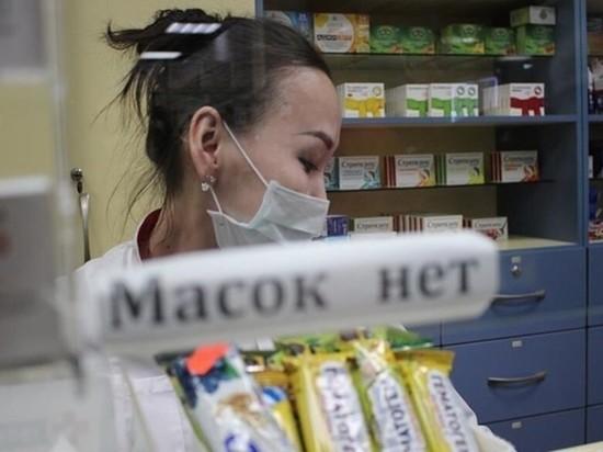 Почему медицинские маски играют с жителями Черноземья в прятки