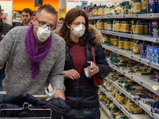 Паника из-за коронавируса: ивановцы сметают с полок продукты и шьют дома маски