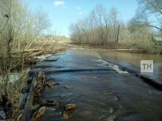 Из-за угрозы подтопления на шести водоемах Татарстана ввели ограничения