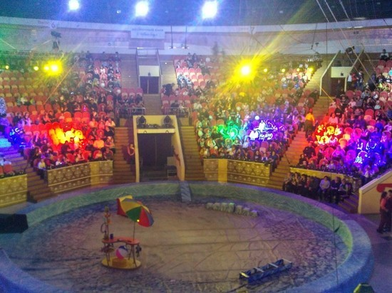 Омский цирк закрылся на неопределенное время