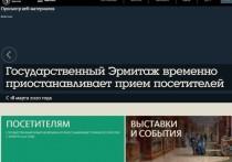 Музеи и театры Петербурга приостановили работу из-за коронавируса