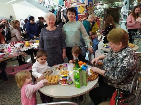 Женщины Серпухова призывают дарить добро другим
