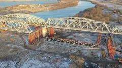 В Серпухове демонтируют железнодорожный мост