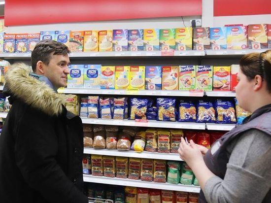 Постный стол: губернатор Ивановской области закупился продуктами