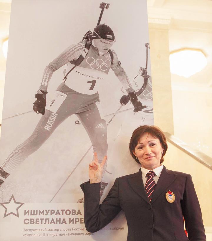 Ишмуратова объяснила, почему у биатлонистов на стрельщибще трясутся конечности