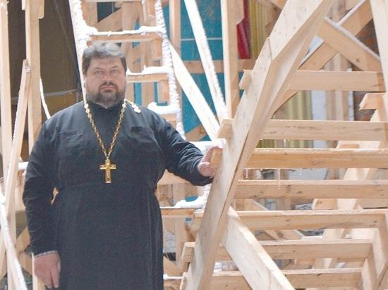 В Мичуринске продолжают восстанавливать храм 19 века