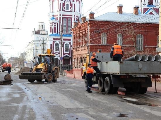 В Калуге улицу Московскую после ремонта обещают сдать к 1 сентября